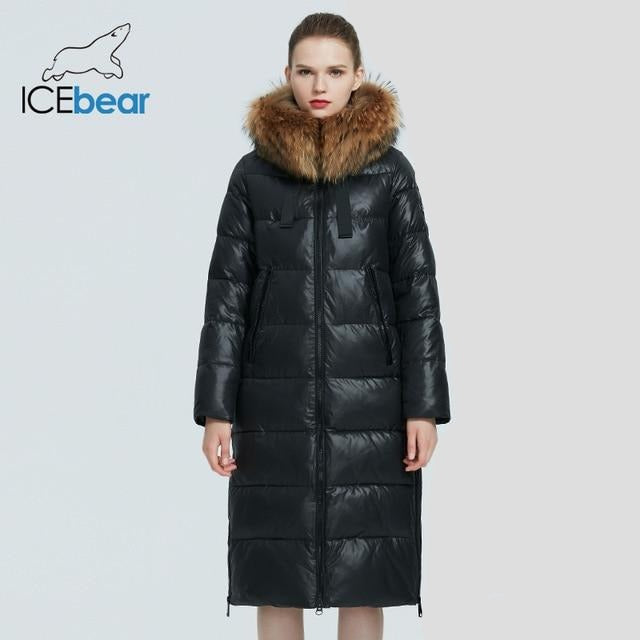 Long Parka - Fur Collar