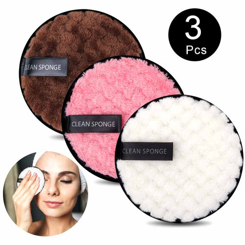 Makeup Remover Cotton Pads - 12cm (Reusable) - Set