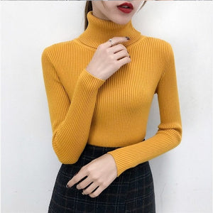 Knitted Turtleneck - Pullover