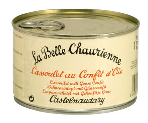Cassoulet with Goose Confit (420g)