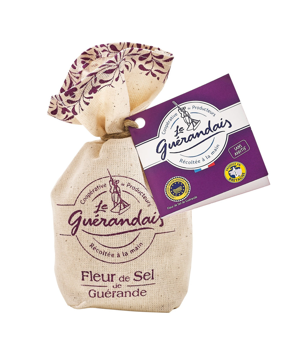 Fleur de Sel from Guérande - Cloth Bag (125g)