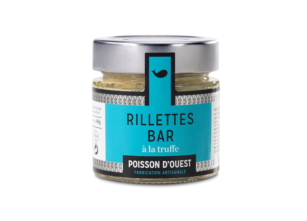 Seabass Rillettes with Truffle (90g)