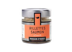 Salmon Rillettes with Dill - ORGANIC (90g)