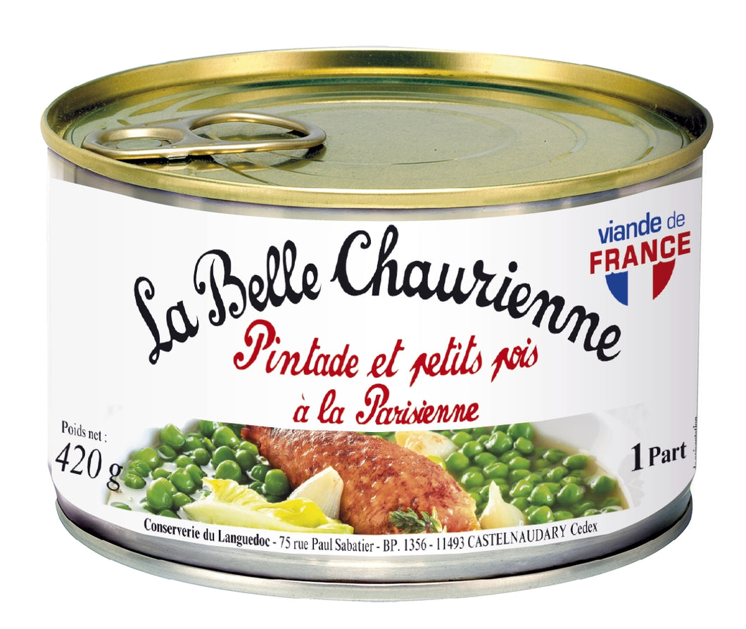 Paris Style Guinea Fowl and Petits Pois (420g)