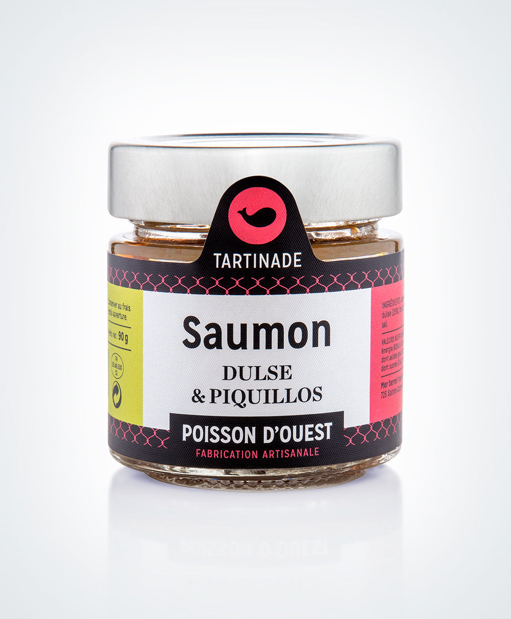 Salmon Spread with Dulse and Piquillo Peppers (90g)