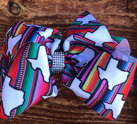 Texas Serape Bow