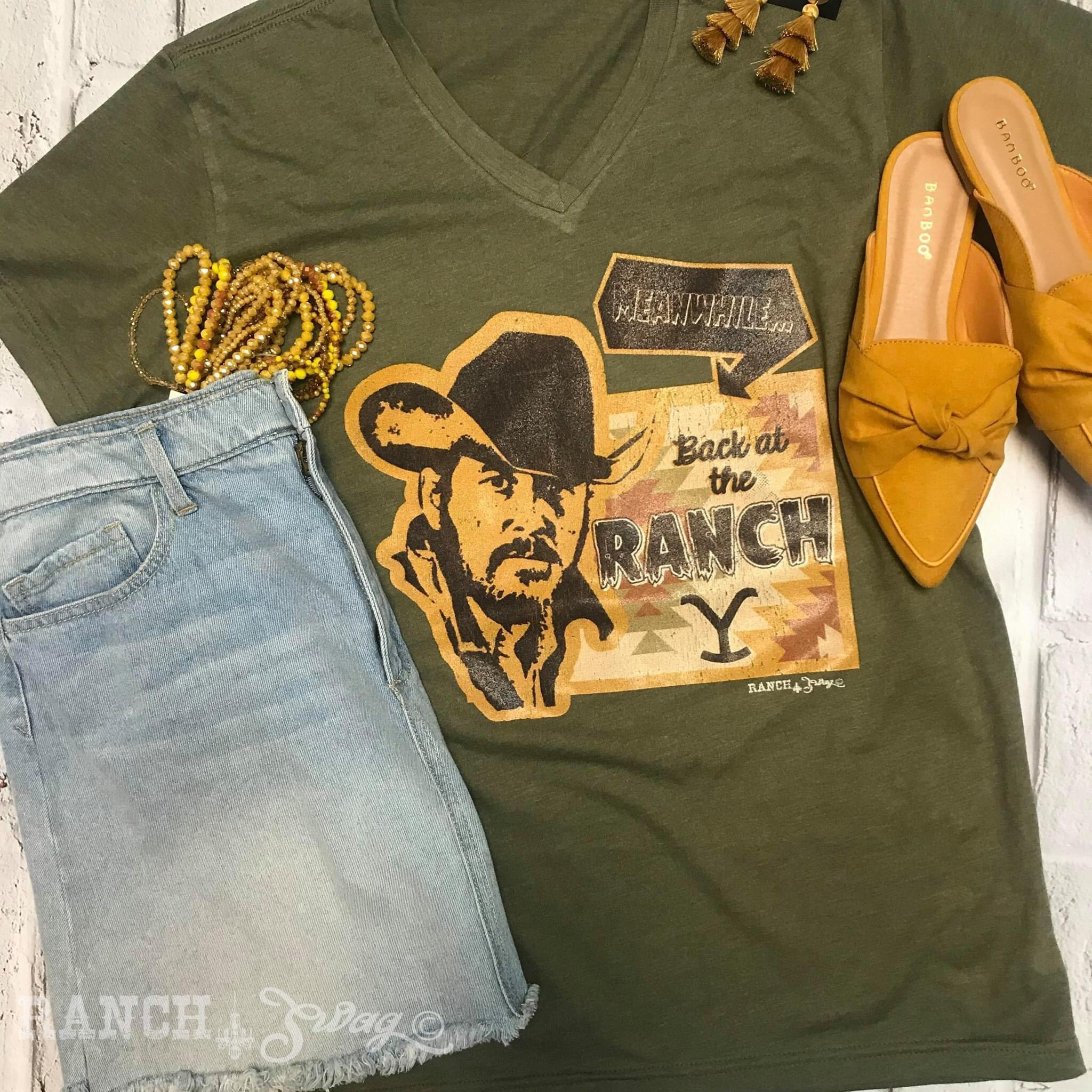Dutton Ranch Tee S-3X