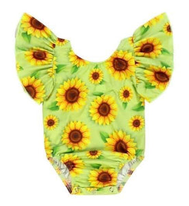 Sunflower onesie