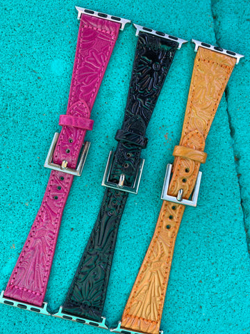 Tooled Smart Watch Band
