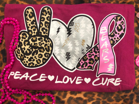 Peace Love Cure (Bears)