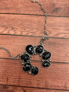 Black Squash Necklace