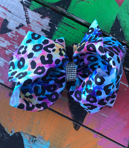Bright Cheetah Bow