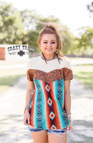 Aztec Fall Top S-3X