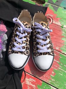 Leopard Low-top Sneakers