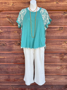 Emerald Umgee Top S-2XL