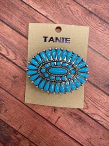 Turquoise Hair Clip