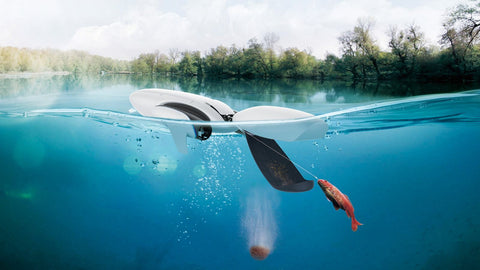 Latest Water Surface Drone with 4K UHD Camera, Remote Controller & Mobile Fish Finding Capability