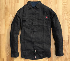 Hawthorne Flannel in Charcoal