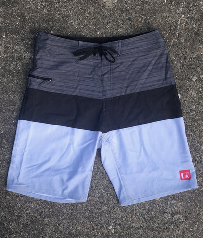 Trident Dobby Stretch Boardshort Grey