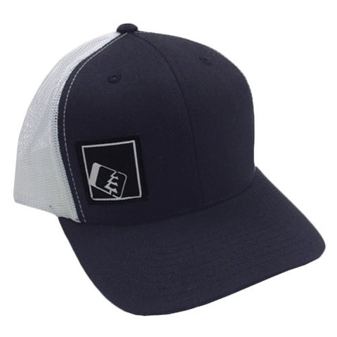 Tilt Trucker Hat Navy/White