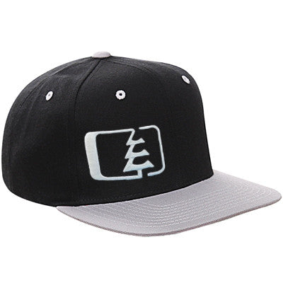Snap Hat Black/Grey