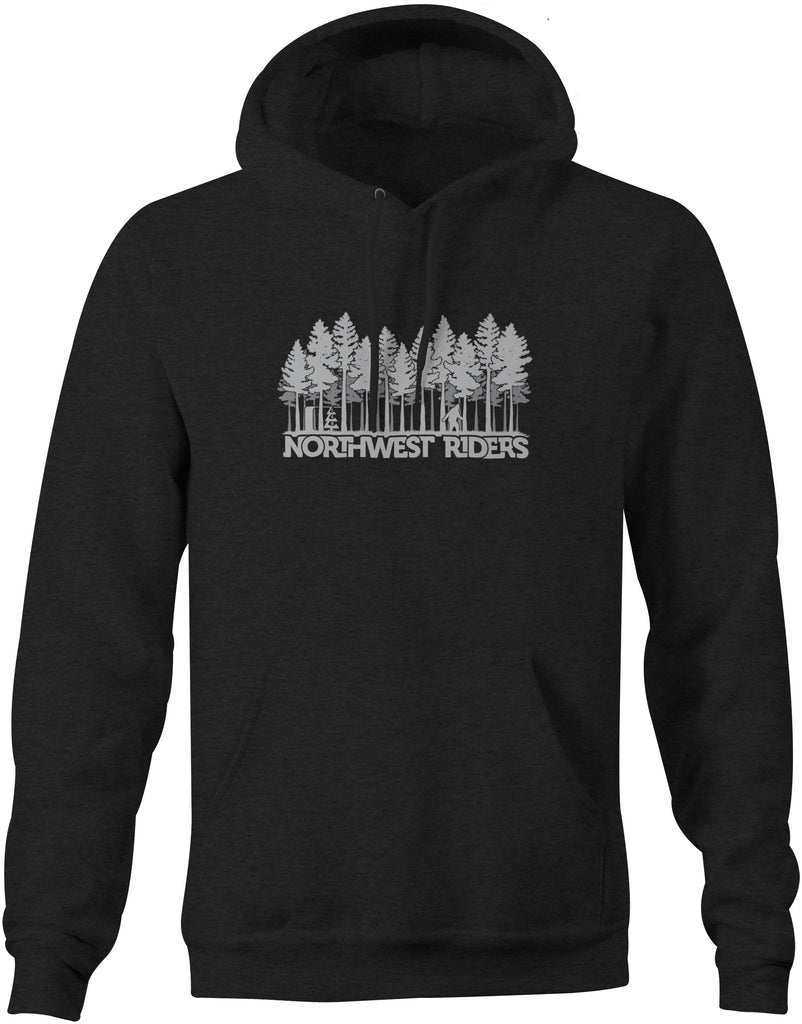 Sasquatch Hoodie Charcoal Heather