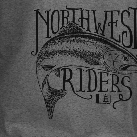 Angler T-Shirt Dark Grey Heather
