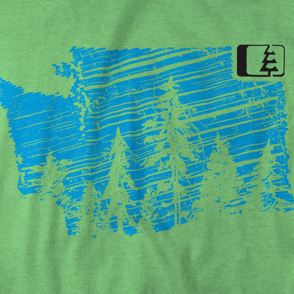 Evergreen WA T-Shirt Apple Green (SM)