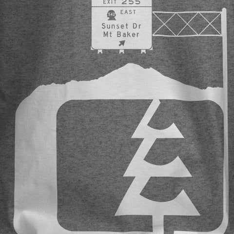 Go Baker T-Shirt Dark Grey Heather