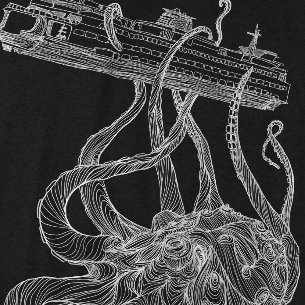 Kraken T-Shirt Charcoal Heather