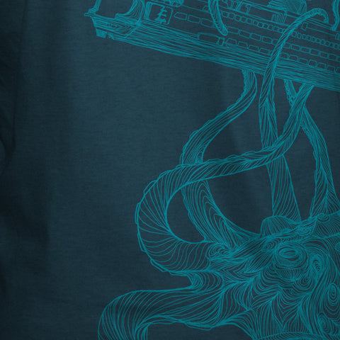 Kraken T-Shirt Indigo Heather