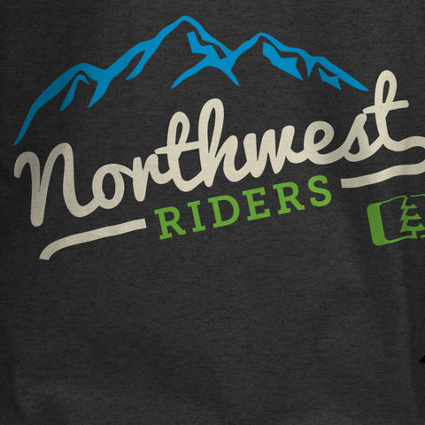 Mount T-Shirt Charcoal Heather