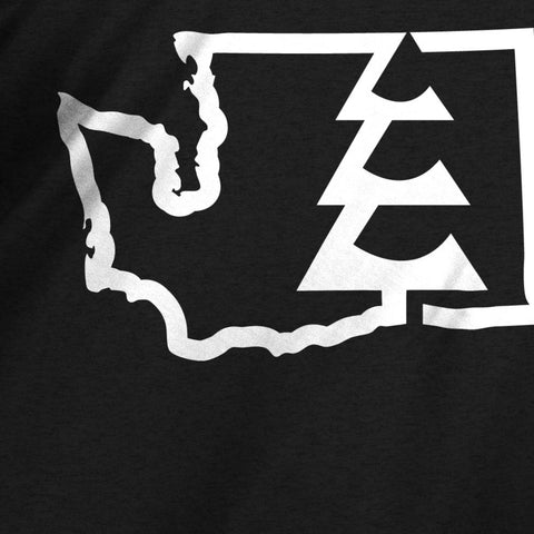 State Tree WA T-Shirt Charcoal Heather