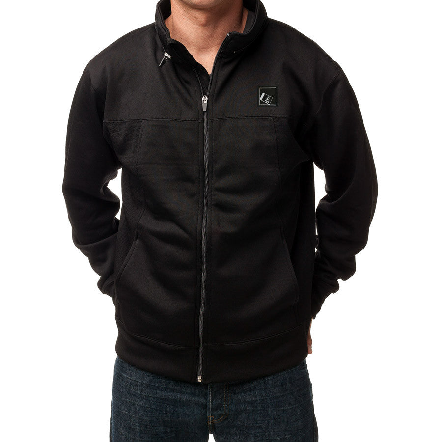 Tilt Zip Tech Jacket Black