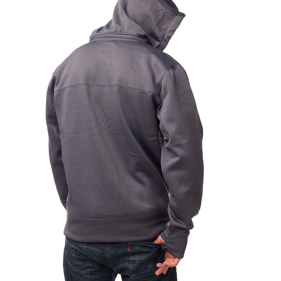 Tilt Zip Tech Jacket Charcoal