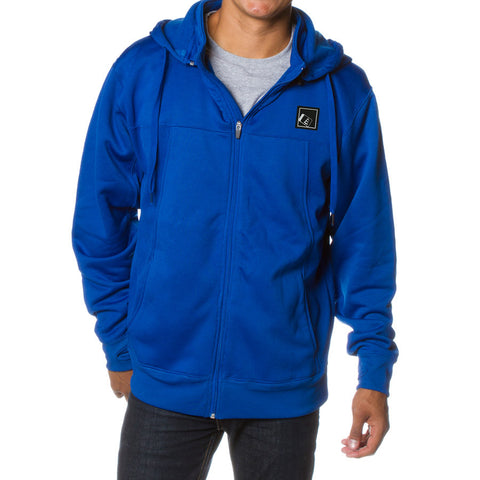 Tilt Zip Tech Hoodie Royal
