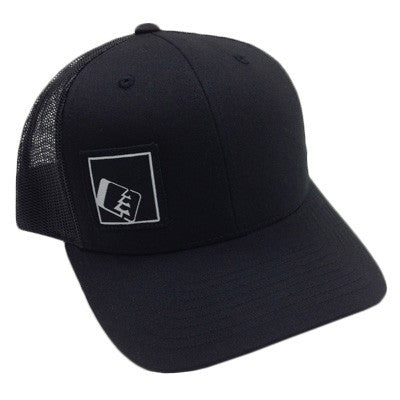 Tilt Trucker Hat Black/Black