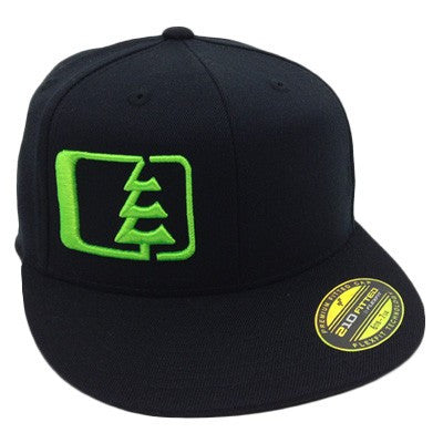 Hank Hat Black/Green