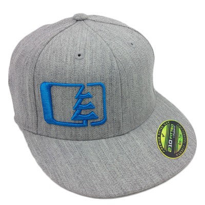 Hank Hat Heather Grey/Blue