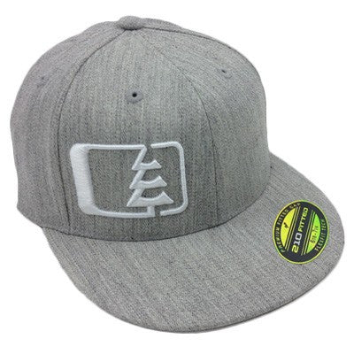 Hank Hat Heather Grey/White
