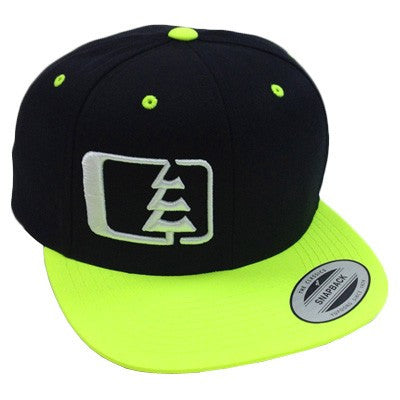 Snap Hat Black/Neon
