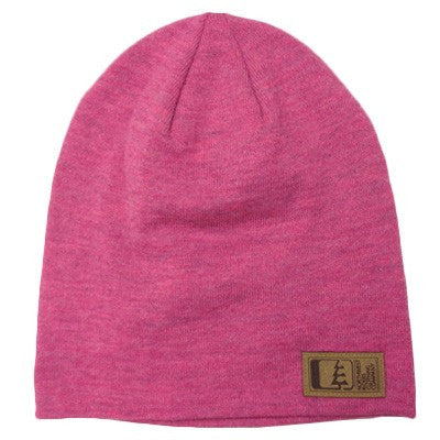 Slouch Beanie Bright Pink