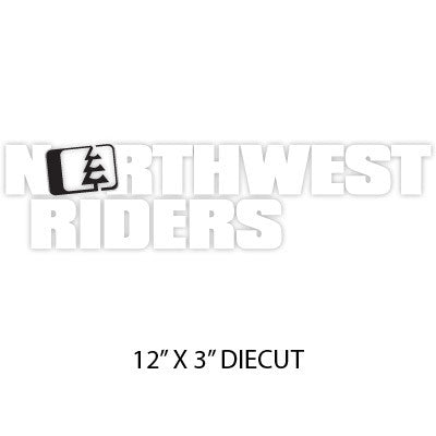 Drop Sticker Black/White