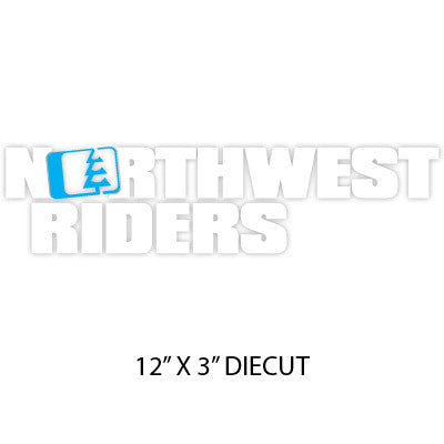 Drop Sticker Blue/White
