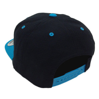 Snap Hat Black/Teal