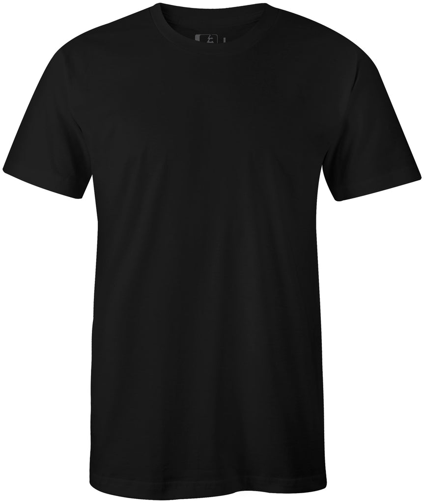 3-Pack Midweight 60/40 Blend T-Shirt Black