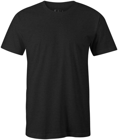 Blank Midweight 60/40 Blend T-Shirt Charcoal Heather