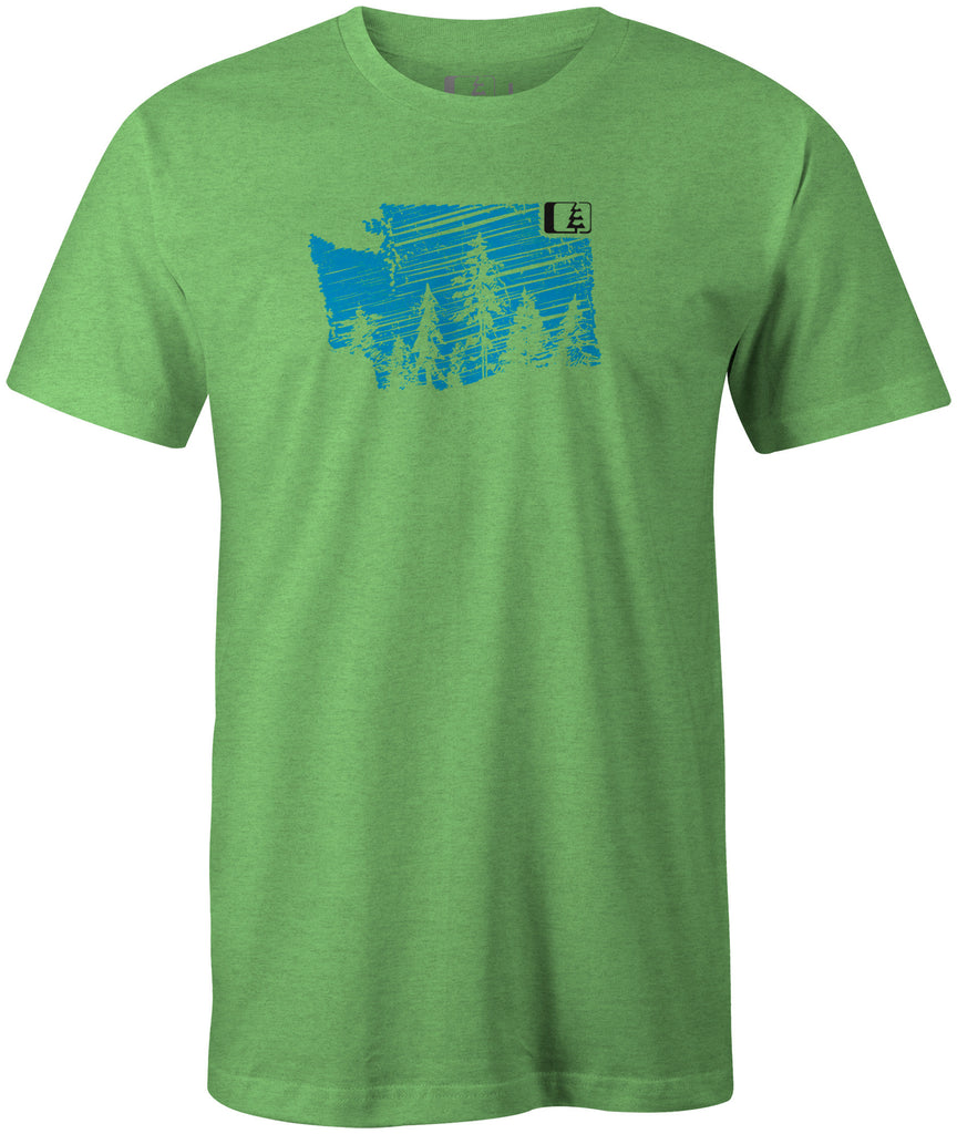 Evergreen WA T-Shirt Apple Green