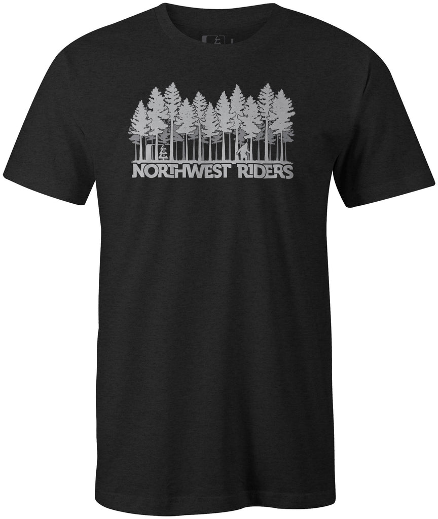 Sasquatch T-Shirt Charcoal Heather