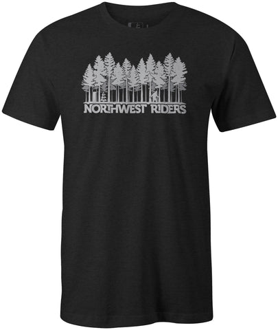 Sasquatch T-Shirt Charcoal Heather (SM)